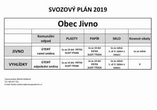 Svozový plán